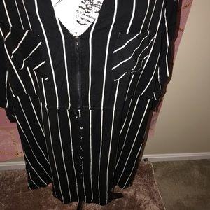 torrid Dresses - TORRID• zipfront challis shirt dress
